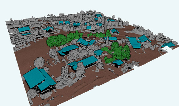 Pointly 3D Point Cloud rendering