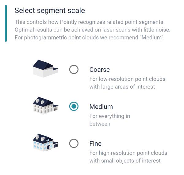 Select Segment Scale 3D Point Cloud Classification