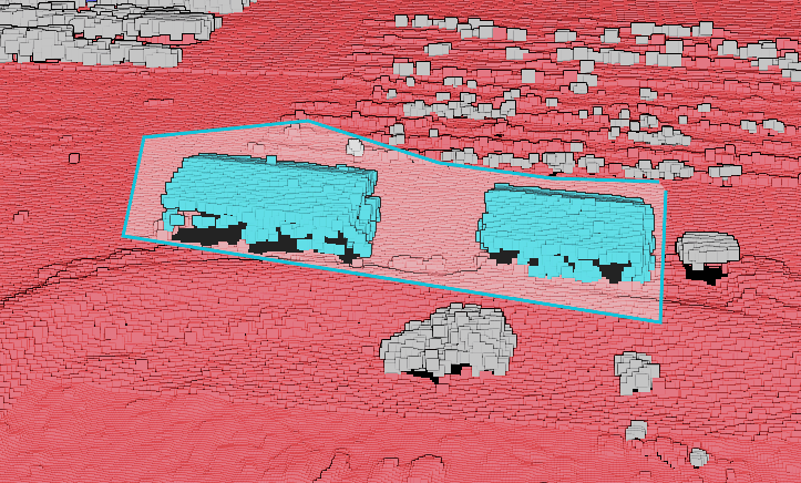 Polygon Lasso Tool 3D Point Cloud Classification