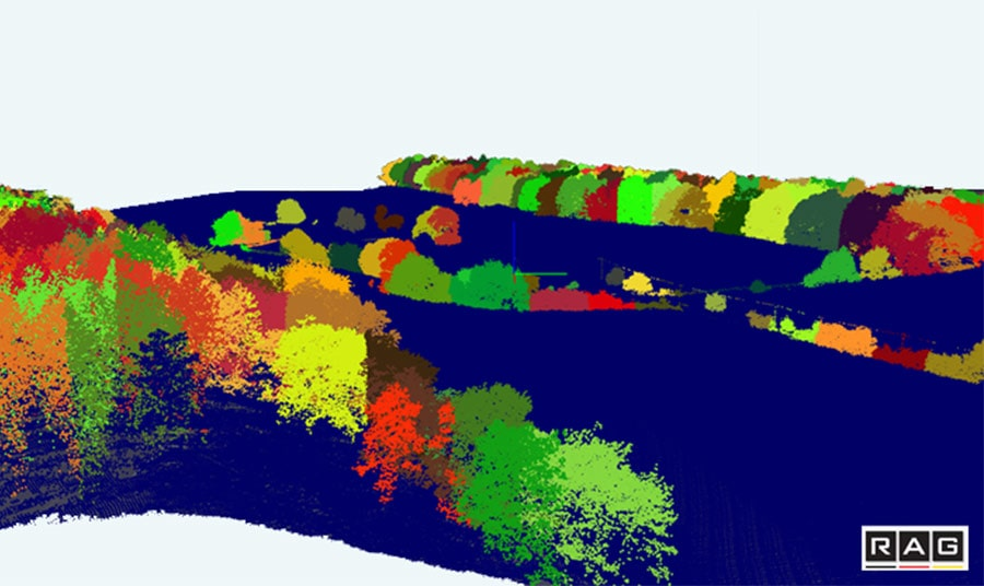 forest inventory automized 3D Point Cloud conduction