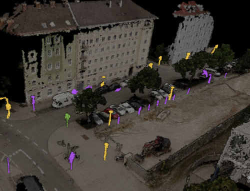 Creating a street asset inventory from point clouds by using AI